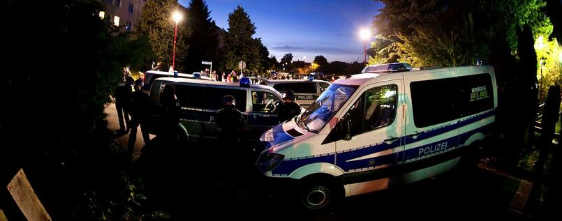 Anti-Asyl-Protest am Dienstagabend in Freital