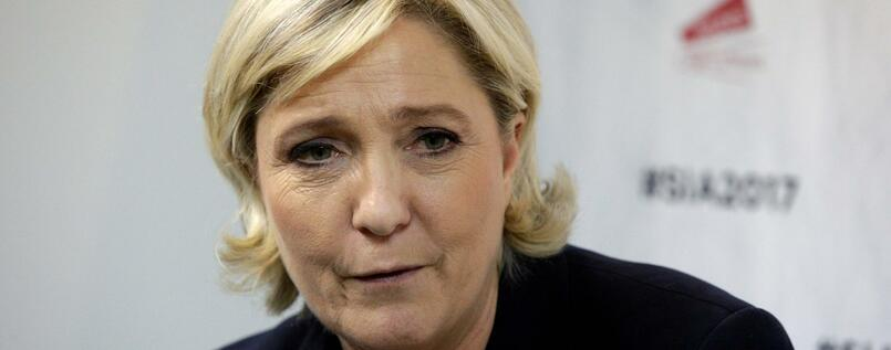 Front-National-Chefin Marine Le Pen.