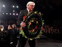 Bundespräsident Frank-Walter Steinmeier beim World Holocaust Forum in Israel.