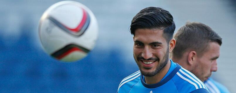 Football - Germany Training - Hilton Glasgow, Glasgow, Scotland - 6/9/15 Germany's Emre Can during training Action Images via Reuters / Russell Cheyne Livepic EDITORIAL USE ONLY.