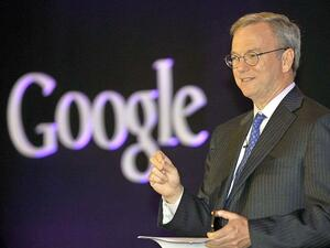 Google-Chef Eric Schmidt: Auf humanitärer Mission nach Nordkorea Foto: Afp Photo