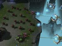 "Szene aus ""Starcraft II: Heart of the Swarm"". Screenshot: Blizzard Entertainment"