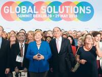 Gruppenfoto beim Global Solutions Summit.