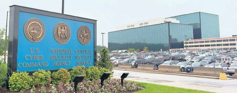 Überwachungszentrale: Die National Security Agency in Fort Meade (Maryland).