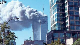 New Yorks Inferno. Am 11. September 2001 steuerten Islamisten Passagierflugzeuge ins World Trade Center.