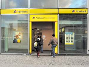 Tatort Postbank.