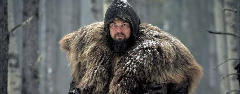 "DiCaprio in ""The Revenant""."