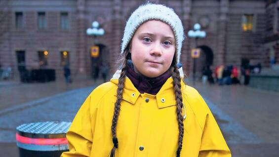 She started everything. Greta Thunberg, now 16, has already been striking since half a year in Stockholm, Sweden.