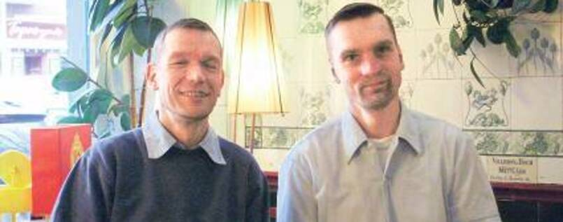 Chef: : Gunter Schmitt (Foto, 45), Christoph Reck (44)