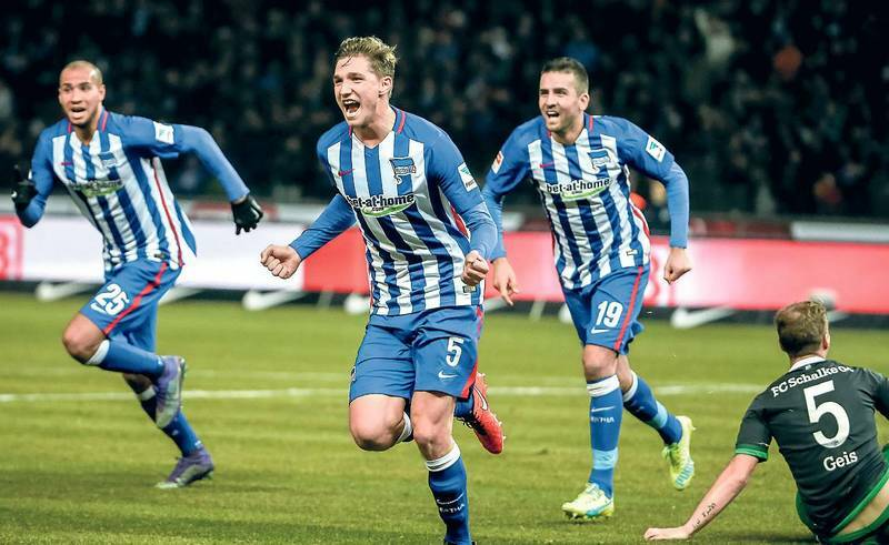 hertha bsc champions league