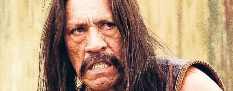 In Action. Machete (Danny Trejo).
