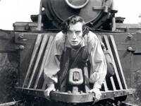 "Avantgardist. Buster Keaton im Bürgerkriegsdrama ""The General"", 1927. Foto: picture-alliance / Mary Evans Picture Library"