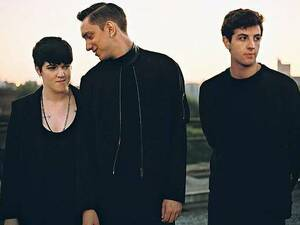 Kühl. Romy Madley Croft, Oliver Sim, Jamie Smith sind The XX. Foto: Jamie James-Medina/Promo