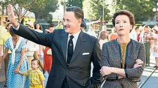 Kühle Distanz. Walt Disney (Tom Hanks) und P. L. Travers (Emma Thompson).