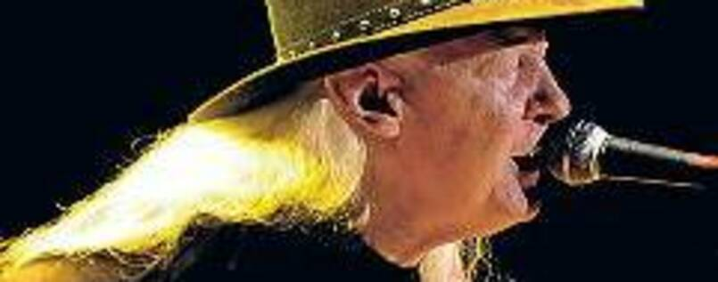 Rastloser Virtuose. Sänger und Gitarrist Johnny Winter (1944–2014).