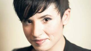Die 1986 in London geborene Autorin Laurie Penny.