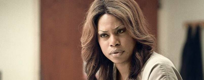 "Powerfrau. Laverne Cox in der Serie ""Orange Is The New Black""."