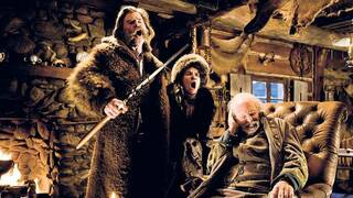 "Kurt Russell, Jennifer Jason Leigh und Bruce Dern in ""The Hateful 8""."
