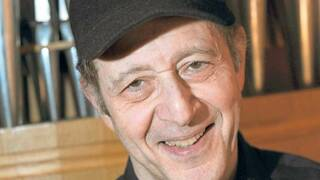 Steve Reich, geboren am 3. Oktober 1936 in New York.