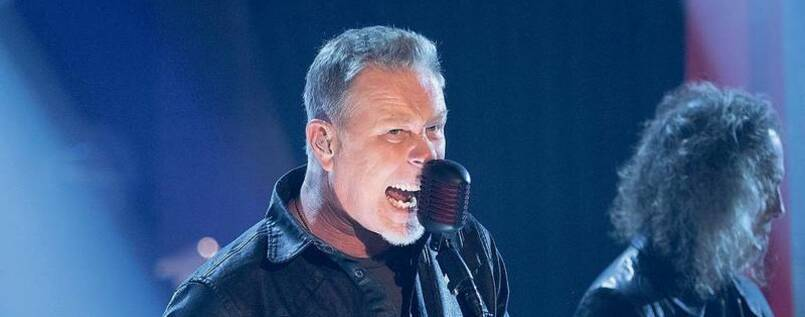 Metallica-Sänger James Hetfield
