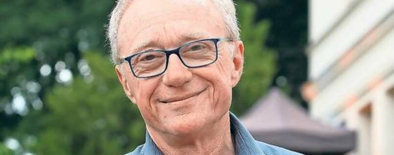 David Grossman am Freitag beim Festival LIT:potsdam. Er las in der Villa Jacob.
