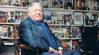 Chronist des Holocaust. Claude Lanzmann (27.11.1925 bis 5.7.2018) in Paris.