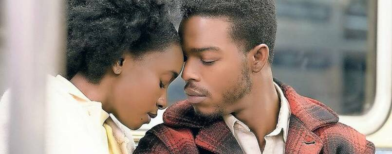 "KiKI Layne und Stephan James in ""If Beale Street Could Talk""."