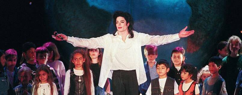 Peter Pan oder Dämon? Michael Jackson 1996 bei den 8th World Music Awards in Monaco
