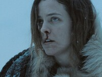 "Grace (Riley Keough) in ""The Lodge"""