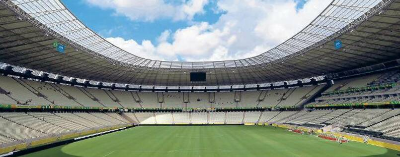 Stadium in Fortaleza