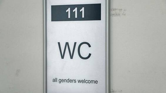 All-Gender-WC - an der Alice-Salomon-Hochschule in Berlin.