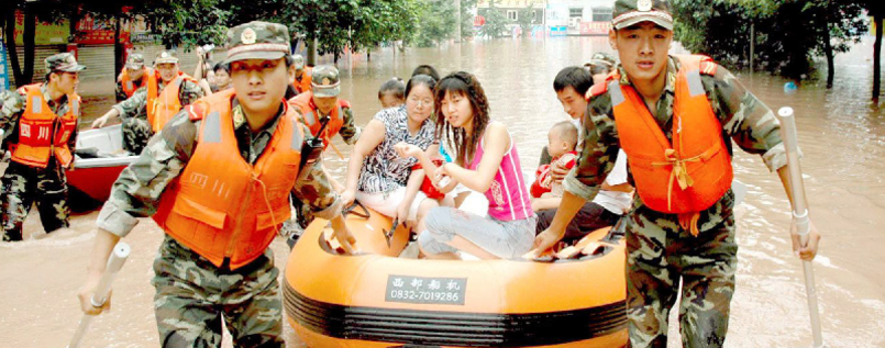 Hochwasser in China