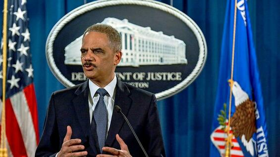 US-Justizminister Eric Holder.