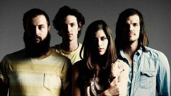 Die US-Band Houndmouth.