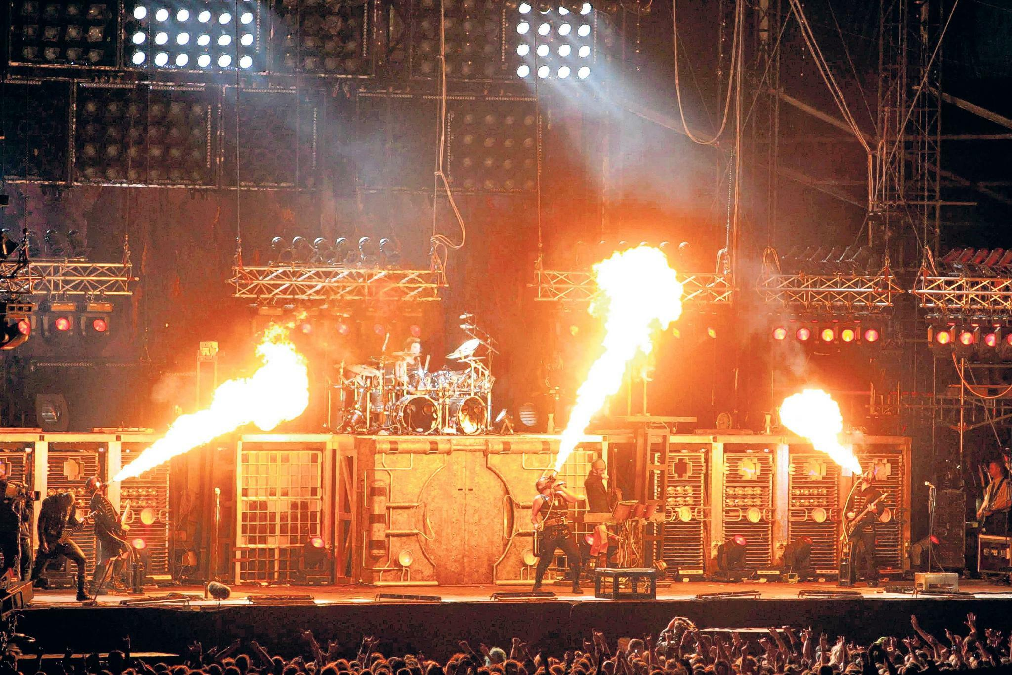 Rammstein-Video Radio: Premiere heute live in Köln