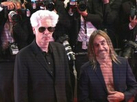 Iggy Pop ohne Hemd in Cannes