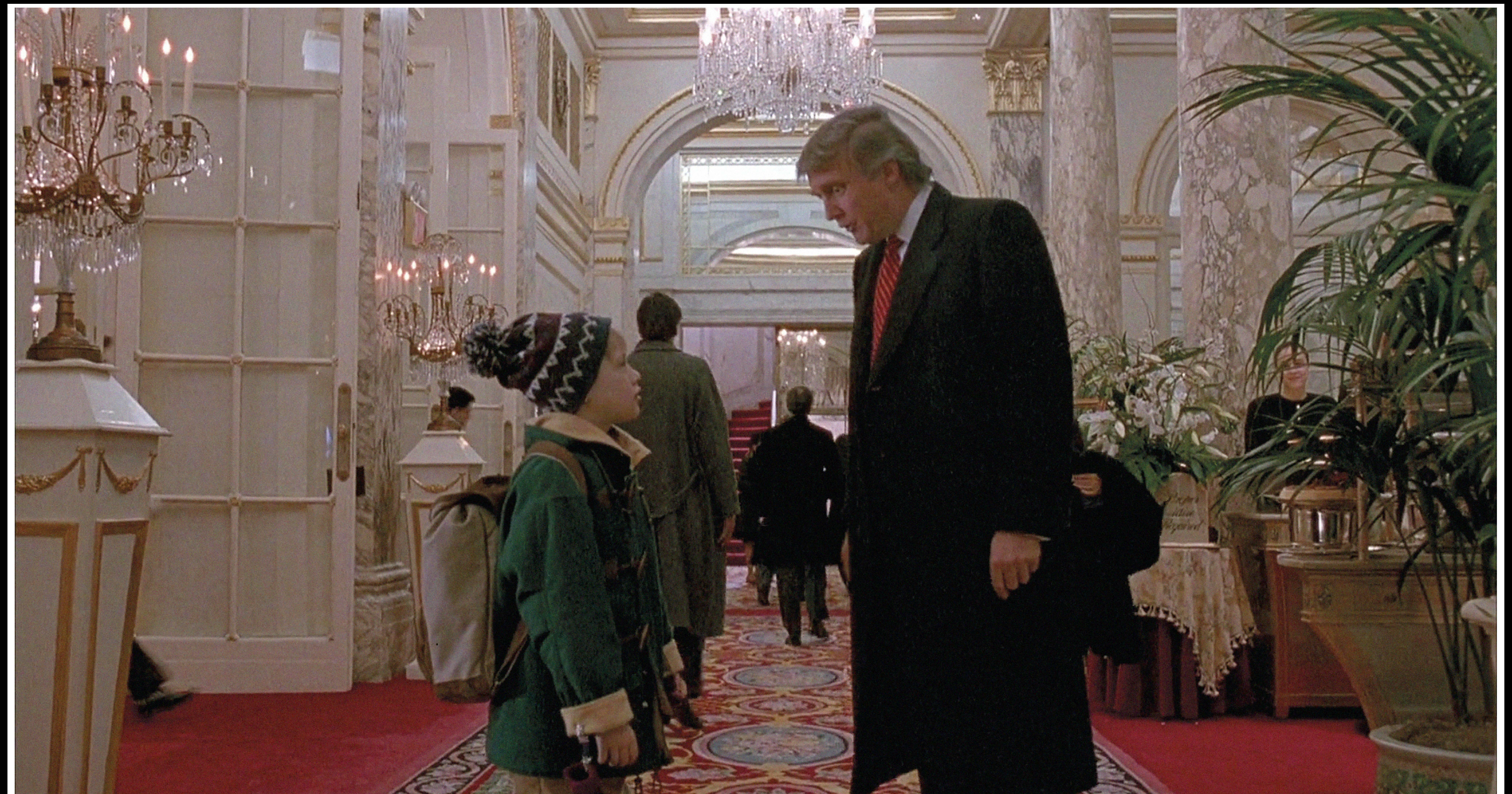 Donald Trump In Kevin Allein In New York
