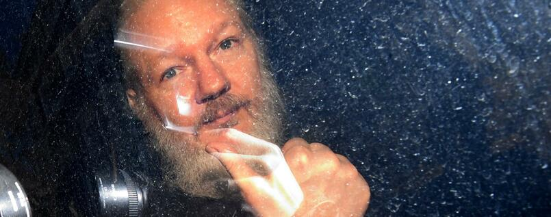 Julian Assange sitzt seit April in Isolationshaft.