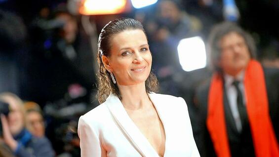 "Juliette Binoche vor der Premiere von ""Nobody Wants the Night""."