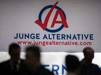 "Bundeskongress der AfD-Jugend ""Jugend Alternative"" im Januar 2015 in Bottrop."