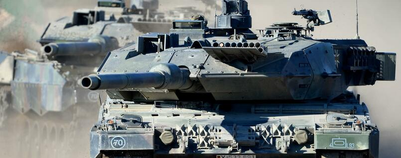 "Made in Germany - der Kampfpanzer ""Leopard 2 A6""."