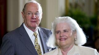 Anthony Kennedy, Richter am US Supreme Court, und seine Frau Mary.