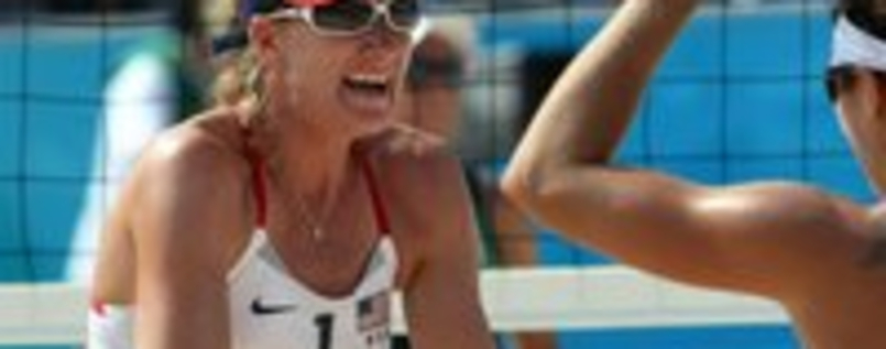 Kerri Walsh und Misty May-Treanor verloren in Mason