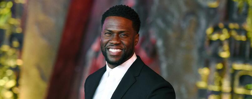 "US-Schauspieler Kevin Hart bei der Premiere von ""Jumanji: Welcome to the Jungle"" in Los Angeles."