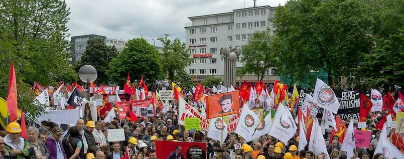 Erdogan-Demonstration in Köln
