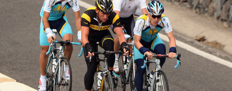 Lance Armstrong im Trainingscamp