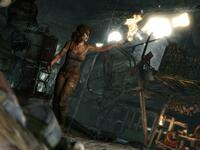 "Lara Croft im neuen ""Tomb Raider"". Screenshot: Square Enix"