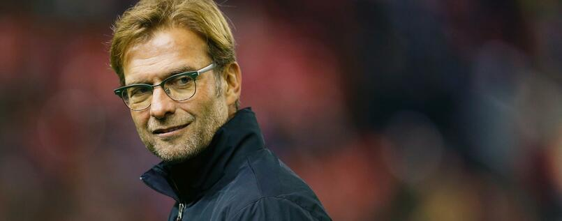 """The Normal One"": Liverpools deutscher Trainer Jürgen Klopp."