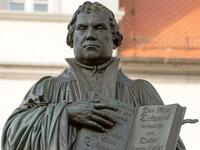 Denkmal des Reformators Martin Luther