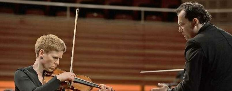 Isabelle Faust und Andris Nelsons mit dem Lucerne Festival Orchestra